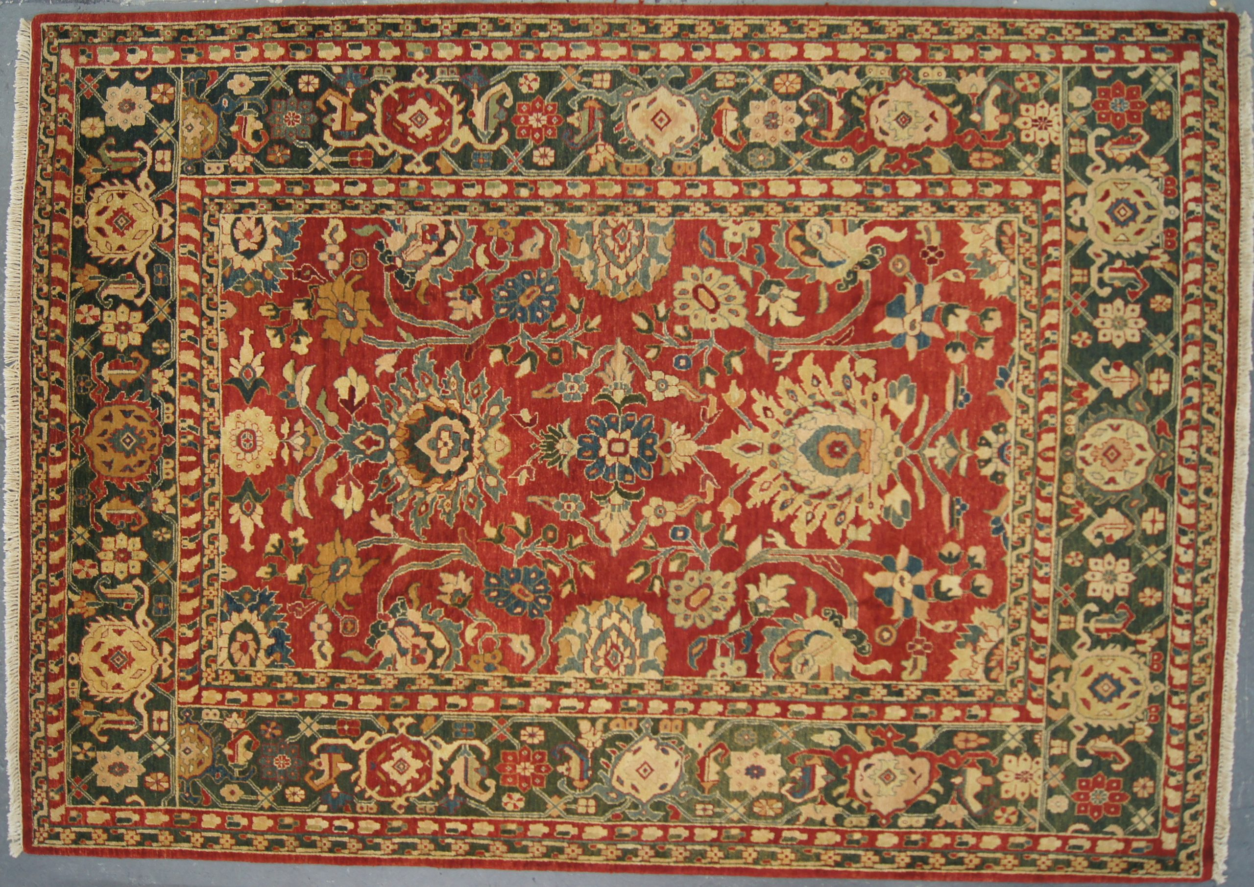 "Indian Natural Dyes Rug - 9'0""x12'0"""