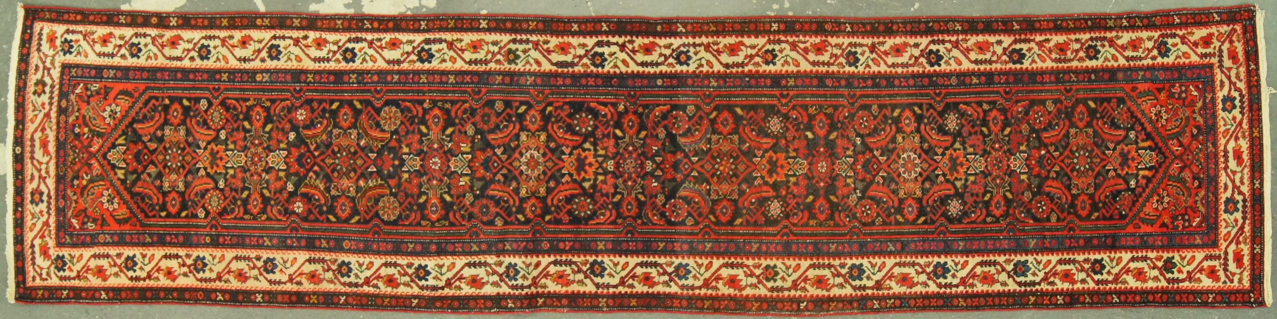 Antique 1940s Malayer - Rug