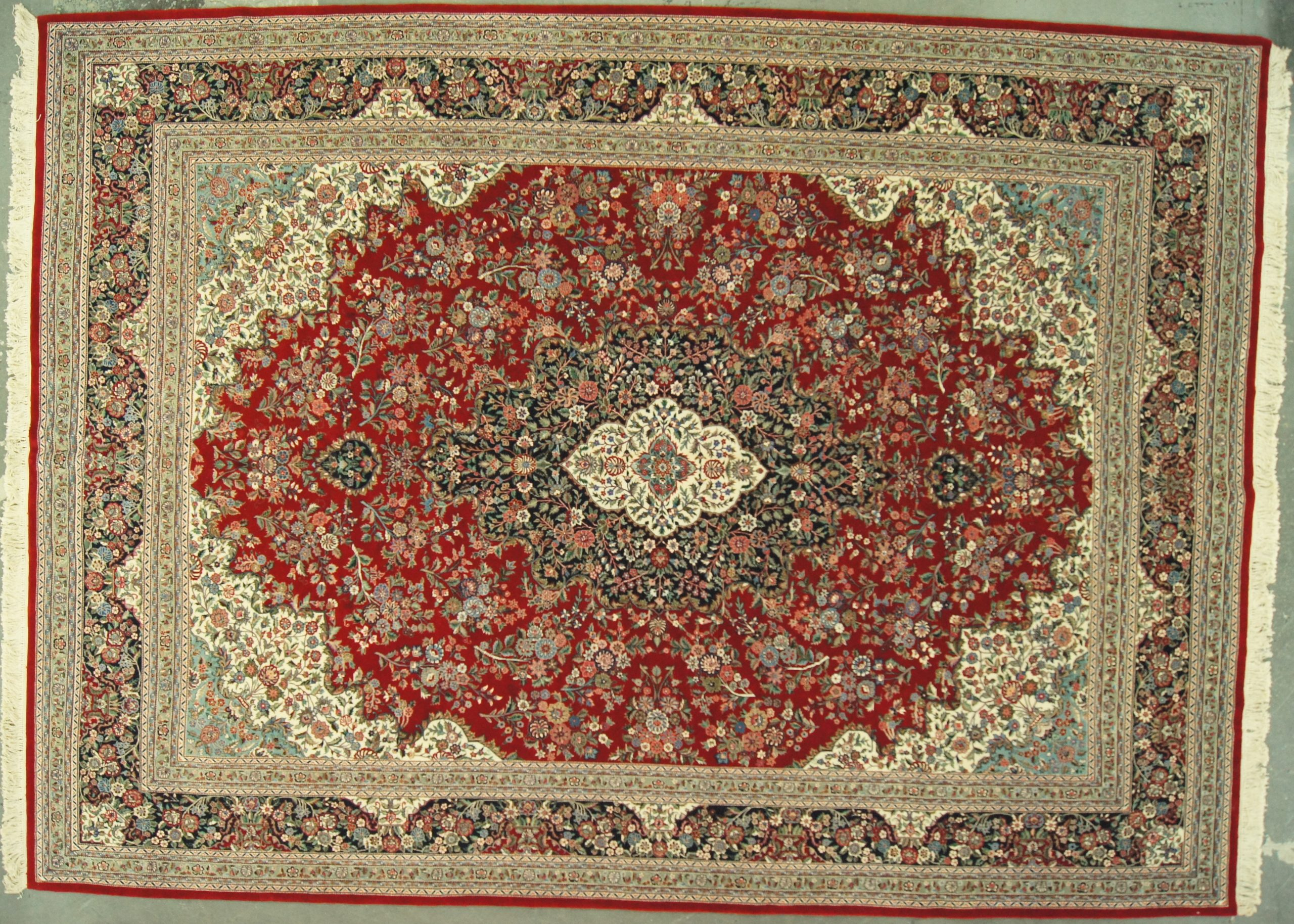 10x14 Chinese Kashan Superfine - Rug
