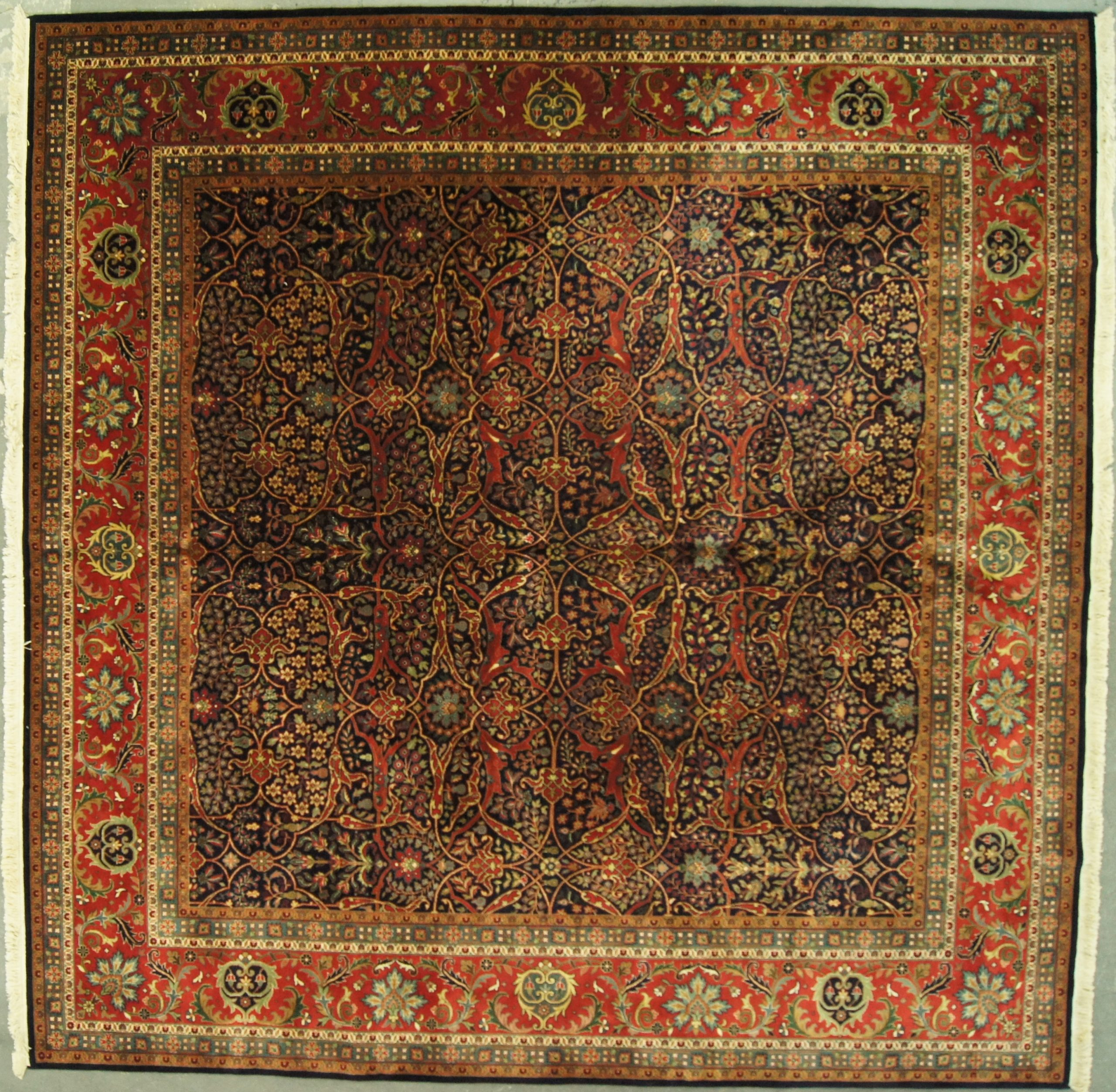 10x10 Indian Persian Design Superfine - Rug